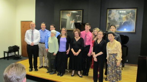 Student Recital at Steinway Gallery